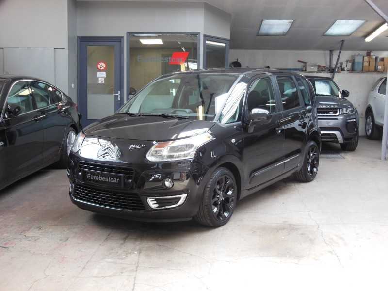 citroen c3 picasso 1 6 hdi 90 exclusive black pack diesel v hicules vendus. Black Bedroom Furniture Sets. Home Design Ideas