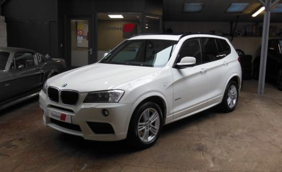 BMW X3 (F25) SDRIVE18D 143CH SPORT DESIGN BVM6