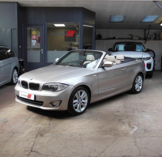 BMW 118D CABRIOLET 143CH LUXE BVA6 (E88)