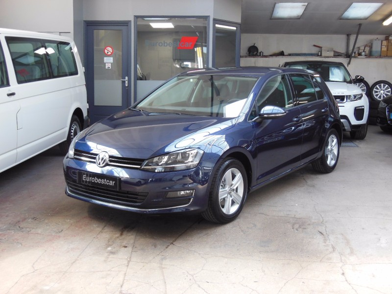 volkswagen golf vii 1 4 tsi 125ch bluemotion technology carat 5p essence v hicules vendus. Black Bedroom Furniture Sets. Home Design Ideas